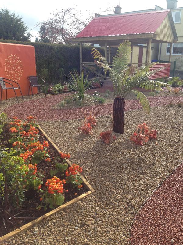garden design Limerick, Supergarden, small garden design ...